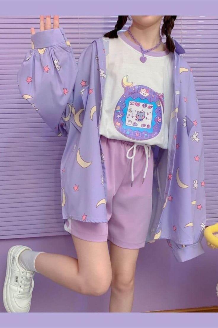 Mode Harajuku, Harajuku Fashion, Lolita Fashion, Girl Fashion, Fashion Outfits, Cute Fashion Style, Cute Casual Outfits, Pretty Outfits, Korean Outfits Cute