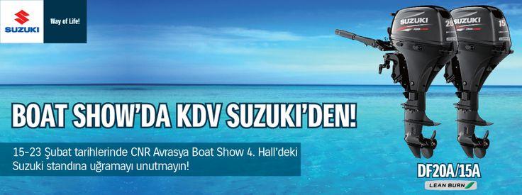#BoatShow 2014  #Fuar 'dayız...