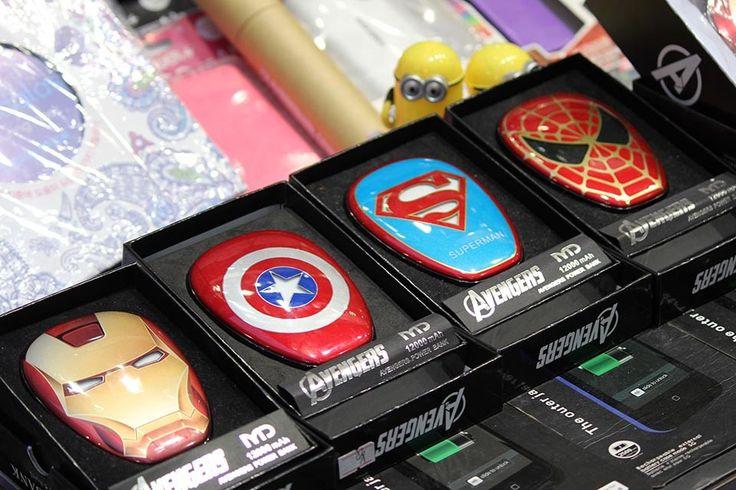 Avenger Power Banks | www.thing2gether.com