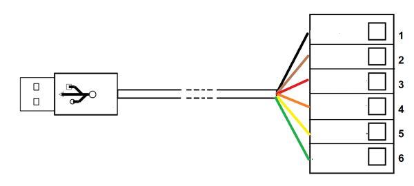 ftdi cable  u2013 usb to rs232 converter pinout