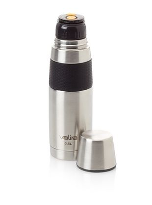 Valira Stainless Steel Vacuum Flask, 16.9-Oz.