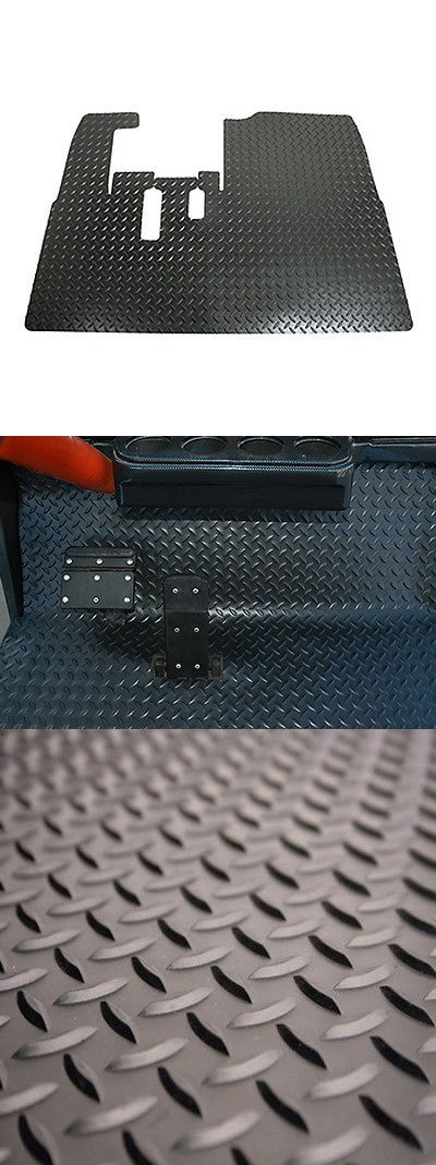 Other Golf 630: Yamaha Golf Cart Diamond Plate Rubber Floor Shield Fits G29 Drive -> BUY IT NOW ONLY: $65.99 on eBay!