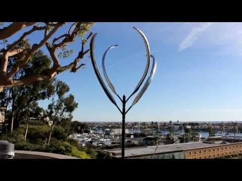 video of kinetic wind sculpture No. 6