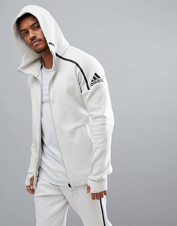 Détails sur Adidas z.n.e Men's Track Sweat à capuche zne Noir Sport à Capuche Full Zip Sweat afficher le titre d'origine