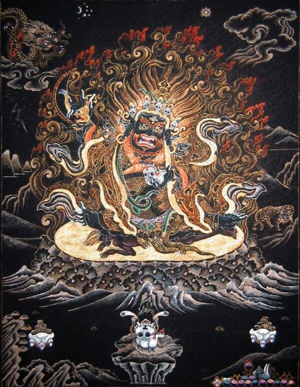 Schwarzer mantel text buddhismus