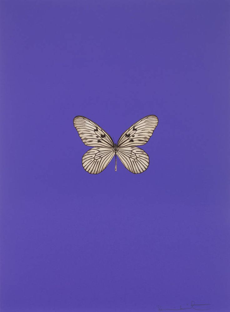 Damien Hirst - Its a Beautiful Day (purple)