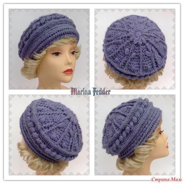 994 best Gorros, Boinas y Sombreros images on Pinterest   Crochet ...