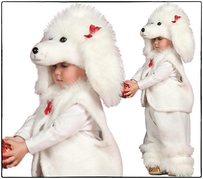Карнавальный костюм собаки для девочки