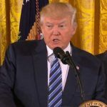 Donald Trump started with busy schedule