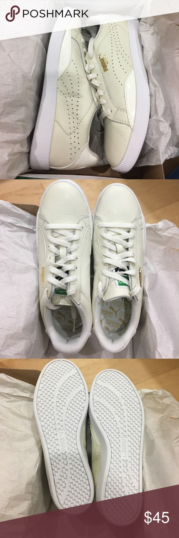 """Brand New PUMA Match Lo BW Tennis Shoes Brand new Puma sneakers in """"marshmellow white"""". In original box Puma Shoes Sneakers"""