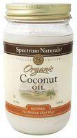 Spectrum Naturals - Coconut Oil Organic, 14 oz liquid