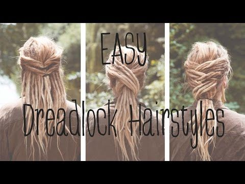 Dreadfrisuren: EASY DREADLOCK HAIRSTYLES - Lina Larsen - YouTube