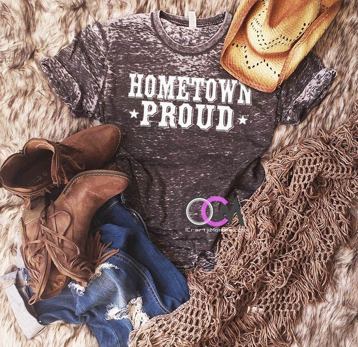 Hometown Proud Kane Brown Shirt, Kane Brown Lyric T-Shirt, Hometown Proud Shirt-Country Concert Shirt - Eroded Wash 24.99