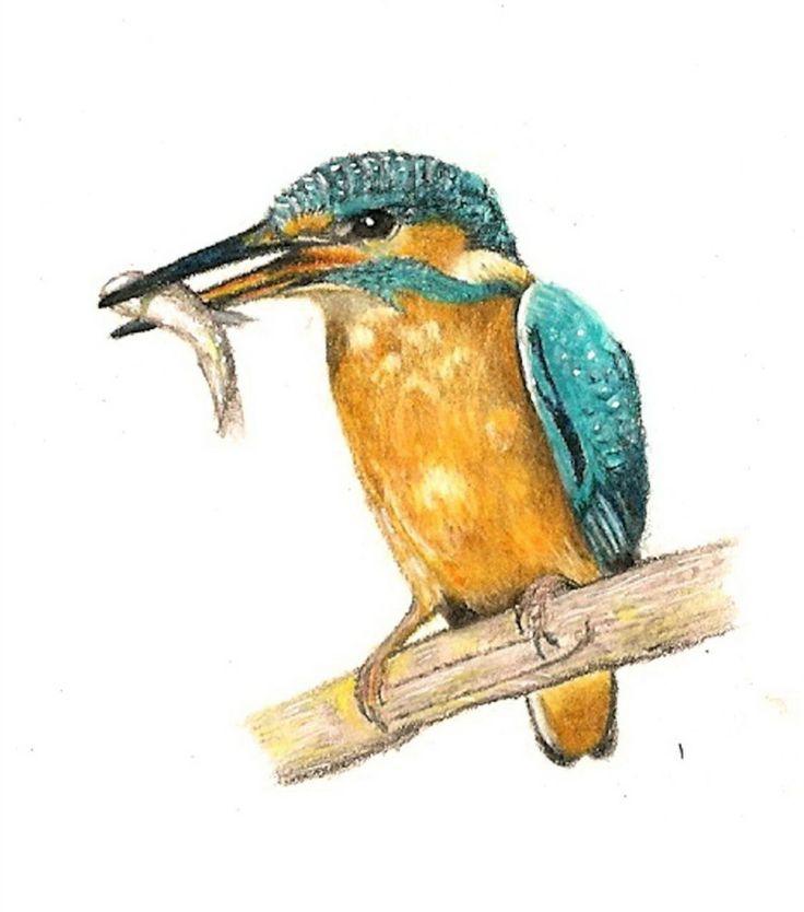 VIDA Statement Bag - Bird Kingfisher by VIDA Q8ZOS2