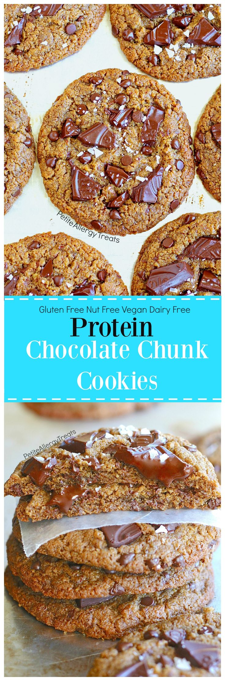 74 best enjoy life tothefullest images on pinterest gluten free gluten free chocolate chunk protein cookies forumfinder Images