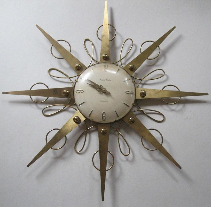 Decorative Clocks For Walls best 25+ vintage wall clocks ideas on pinterest | large vintage