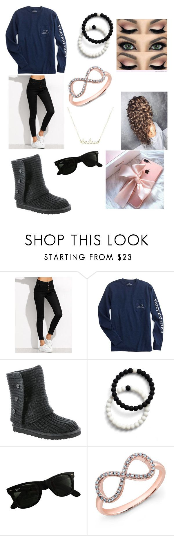 """""""Twilight 4"""" by lddance2002 on Polyvore featuring UGG Australia, Lokai, Ray-Ban and Anne Sisteron"""