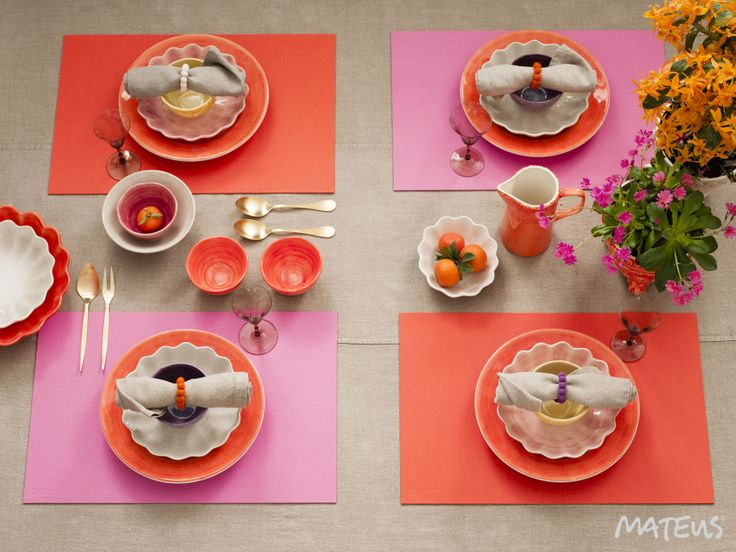 Set your table with Mateus and make it your own!
