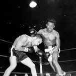 New York Times - LaMotta, who learned to box in a reformatory, won the middleweight championship and inspired an acclaimed film in which he was played by Robert De Niro.
