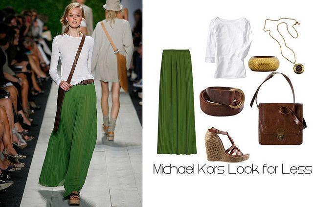 Michael Kors Green Maxi by japayne3, via Flickr - maxi skirts are my best friend!