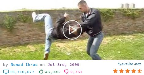 REAL STREET FIGHT (5.03 MB) - Video Download | Download From Youtube - Www.e-martialart.com PROTECTO - Self Defense System Techniques demonstrated by creator : Nenad Ikras CONTACT INFORMATION: email: nenad@e-martialart.com Web: ...