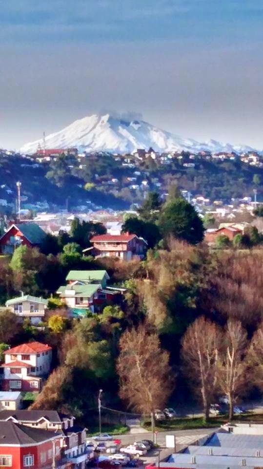 PUERTO MONTT Y EL VOLCAN CALBUCO - SOUTH CHILE