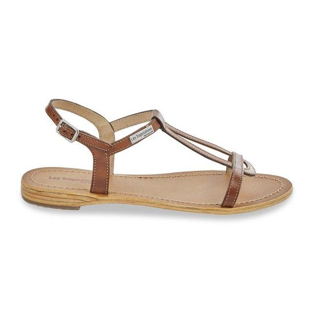 Sandales cuir hamesss Les Tropeziennes Par M Belarbi | La Redoute