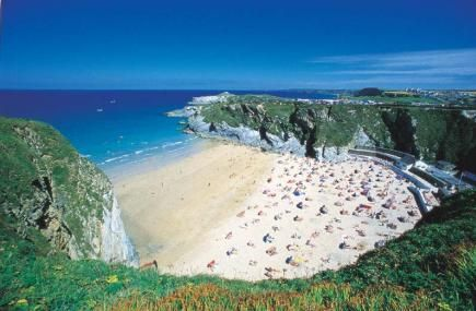 Lusty Glaze Beach, Newquay, Cornwall