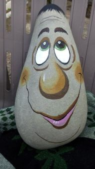 19 Awesome Cute Rock Painting Design Ideas
