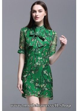 Elegantes Seiden Kleid Abendkleid Ursine