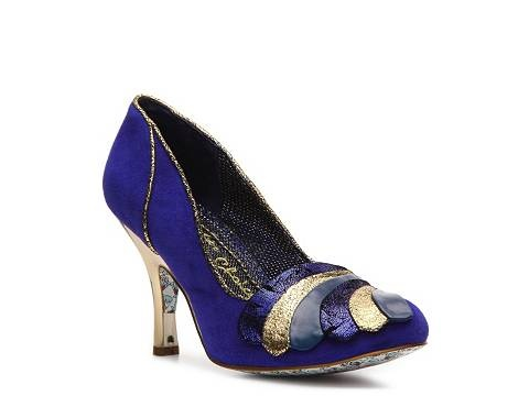 Different than my usual style, but i'm really liking it!   Irregular Choice Royal Marriage Pump