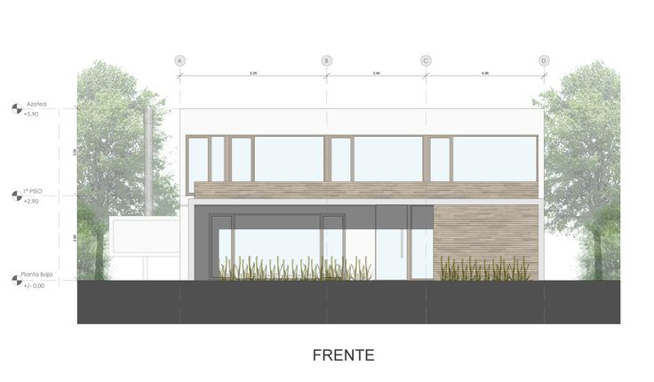 Image 16 of 17 from gallery of House Ef / Fritz + Fritz Arquitectos. Photograph by Fritz + Fritz Arquitectos