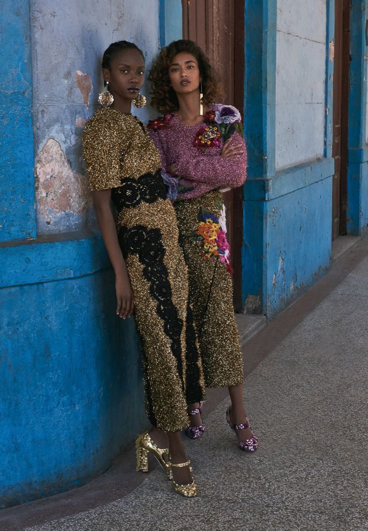 Vogue Ukraine July 2016 Anais Mali and Riley Montana by Hans Neumann