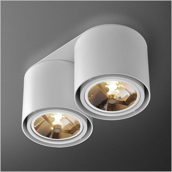 TUBA 111x2 DISTANCE - Oprawy natynkowe - Oprawy oświetleniowe, lampy Aquaform - aquaform.pl