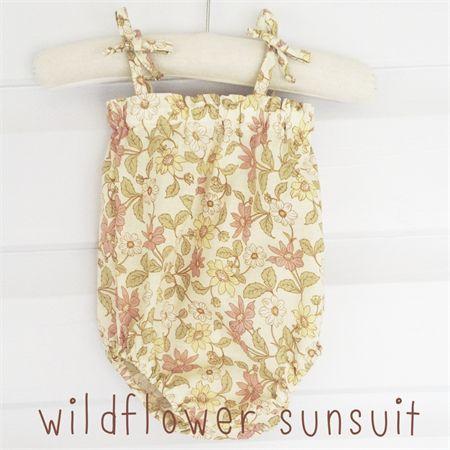 Wildflower Sunsuit