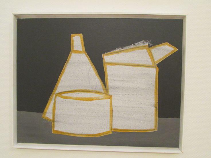 Dutch painter #KlaasGubbels, 'Super boring still lives' (serial original: 'super saaie stillevens'), 2010-2114