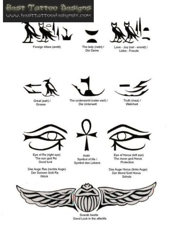 Egyptian Tattoos Best Tattoo Designs And Ideas Design 571x767 Pixel