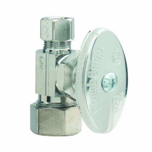 Photo Album Gallery BrassCraft PSBX Multi Turn Angle Water Shut Off Valve Chrome Plated PEX installations require an insert for proper installation