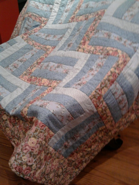 My second rail fence quilt for Tara 2011