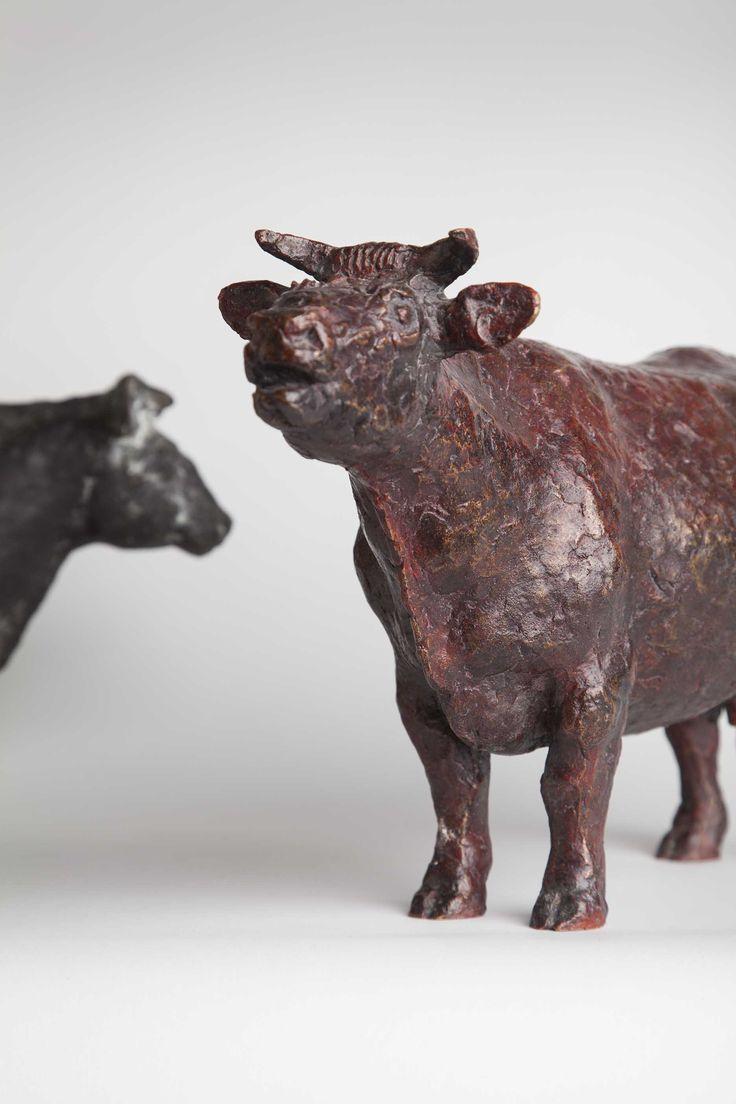 Eriikka, 1979, bronze By sculptor Anja Juurikkala (1923-2015). Heinola Art Museum collection. Foto: Niclas Warius