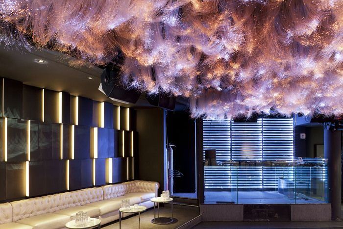 """that ceiling! """"The Pearl"""" (Germany) Designer: IDEA"""