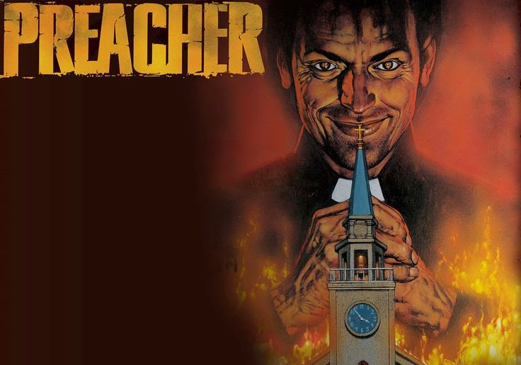 Comic-Soon: PREACHER: ECCO IL CAST COMPLETO DELLA NUOVA SERIE ...