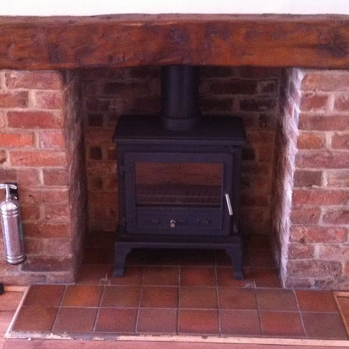 Tile Hearth: Pictures Of Wood Burning Stoves Fitted In Scunthorpe
