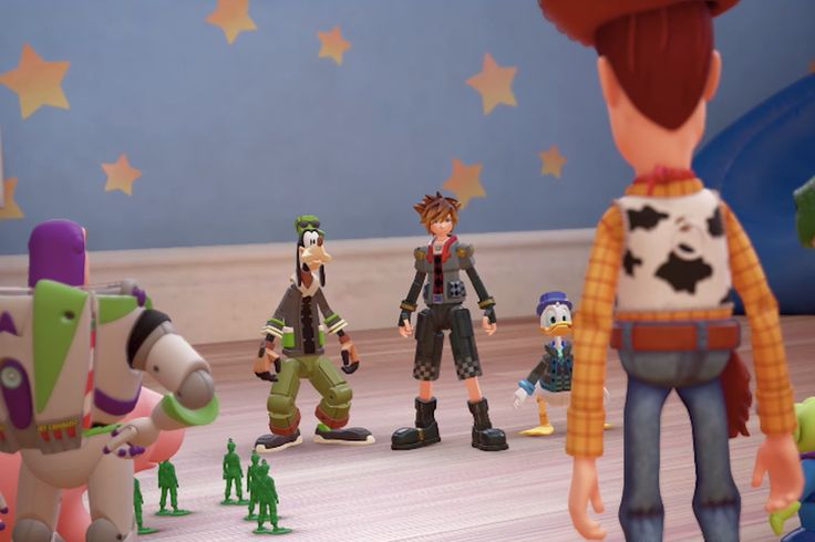 It's been 12 years since Kingdom Hearts II, but the team is back with the 3rd instalment to be released in 2018, featuring new worlds like Toy Story.