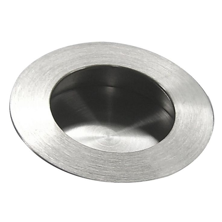 Inox By Unison Hardware Fhix01 Round Pocket Cup Pull W