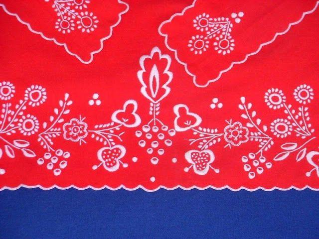 Polish embroidery-costume
