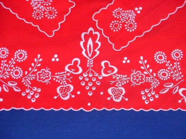 Polish embroidery-costume