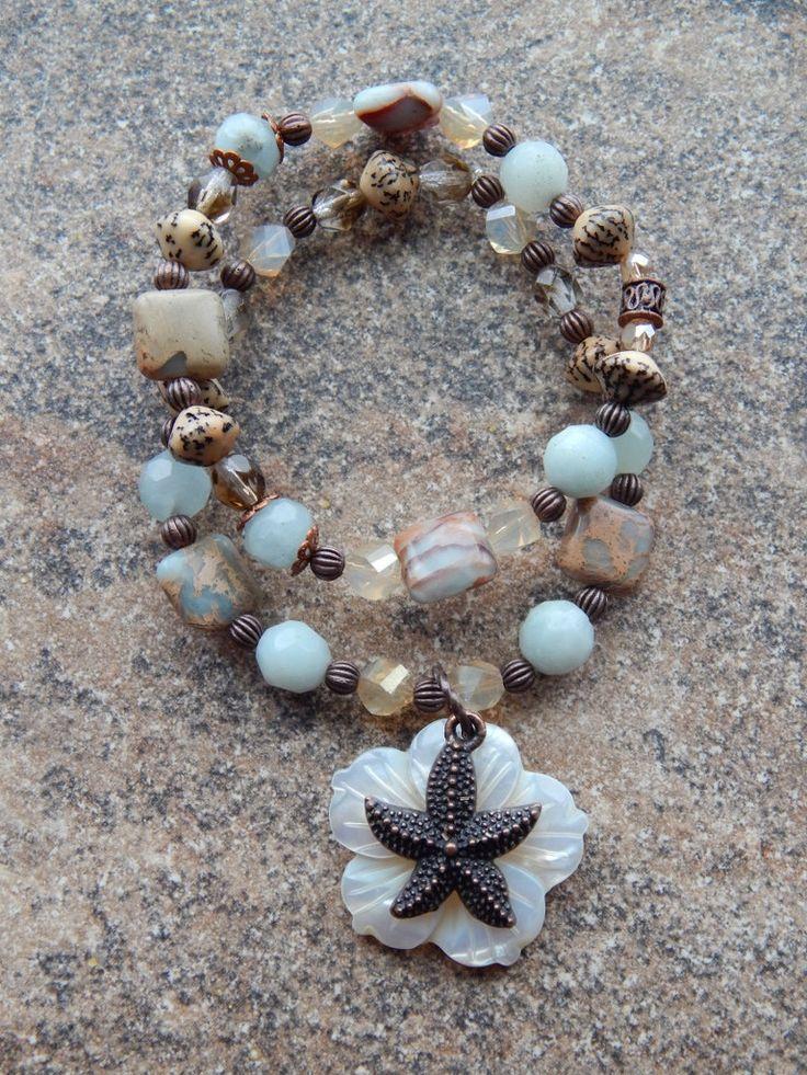 Seashell Морская звезда браслет русалка ювелирных от AJBcreations