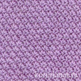 Тканевый узор - Тканевый узор - как вязать и схема вязания узора спицами