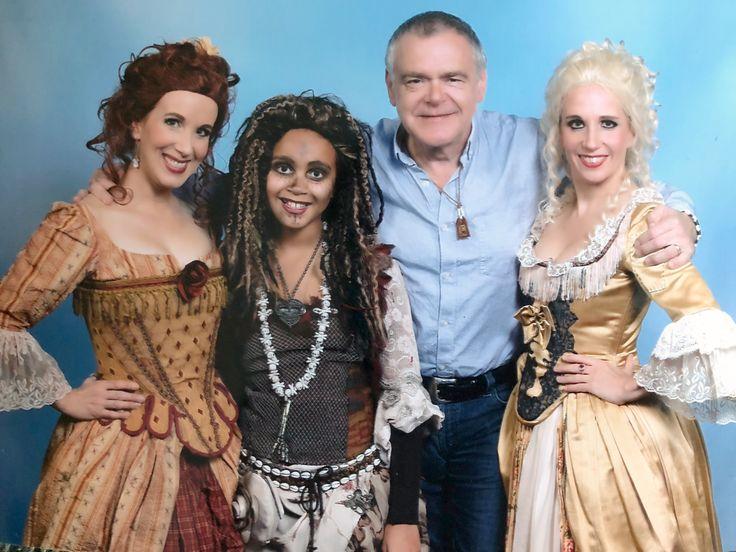 Meeting Kevin McNally( Mister Gibbs) at Dutch ComicCon! So cool!